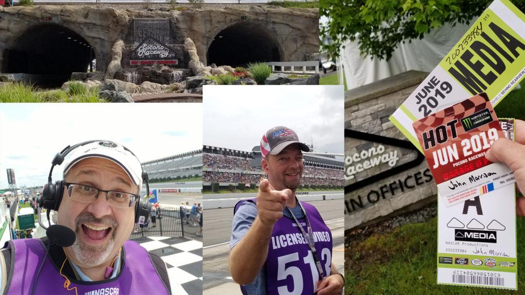 montage of Pocono 400 Images 1