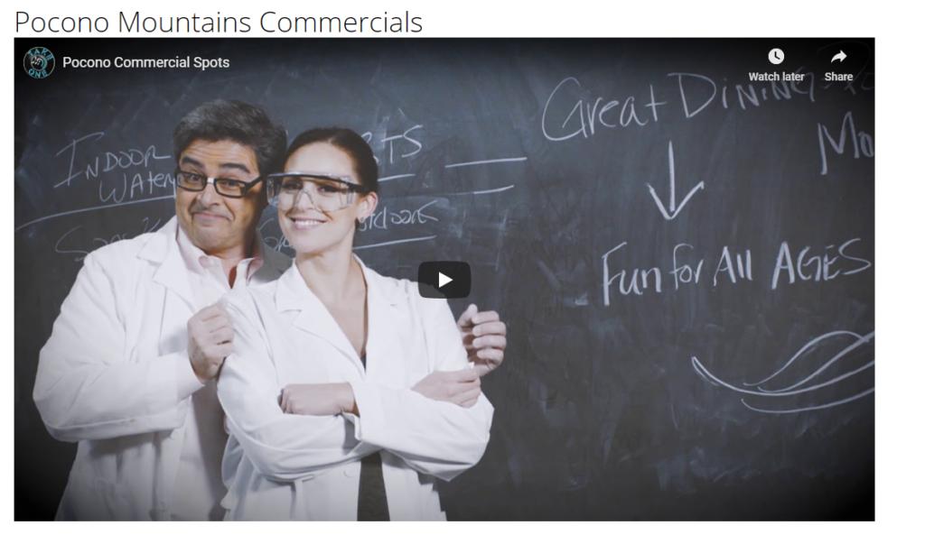 Screen capture of the formula commercial spot